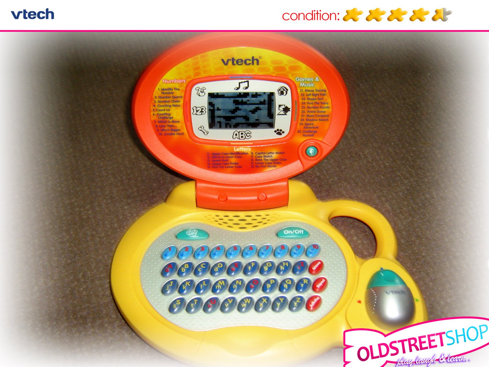 Oldstreetshop Vtech Laptop