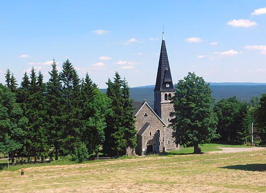 Kościół św. Anny w Zieleńcu.