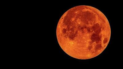 خسوف القمر - ارشيفية