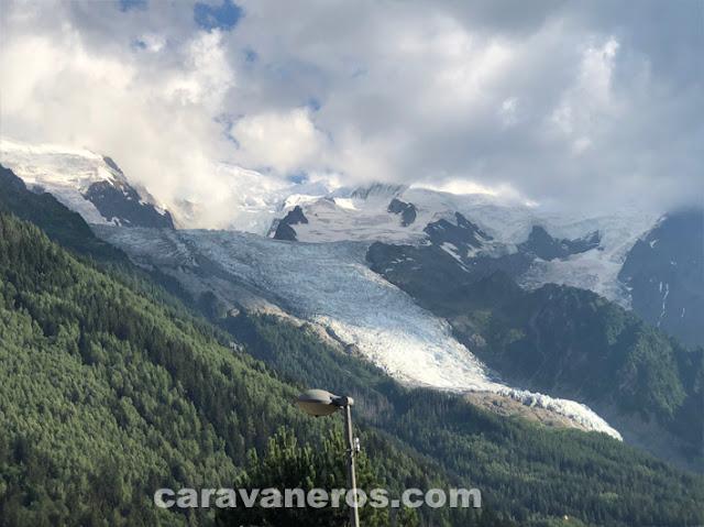 glaciar de bossons. Chamonix | caravaneros.com