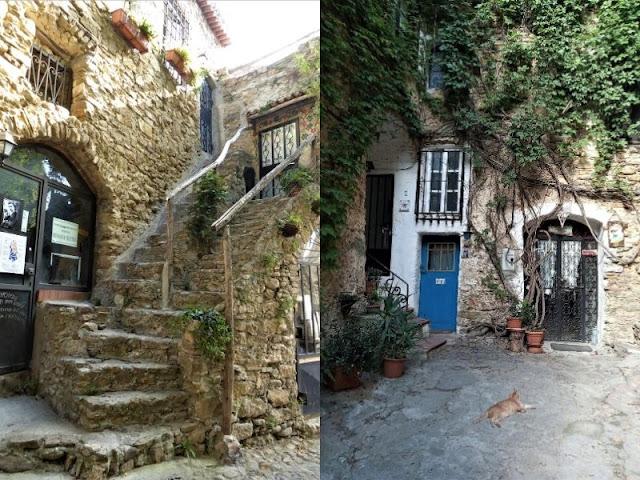 case in pietra avvolte da edera bussana vecchia