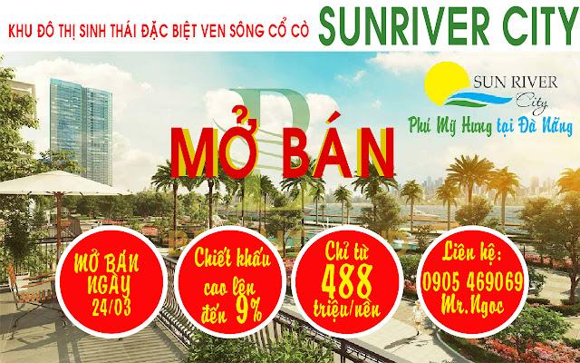 sun river city mở bán giai đoạn 3