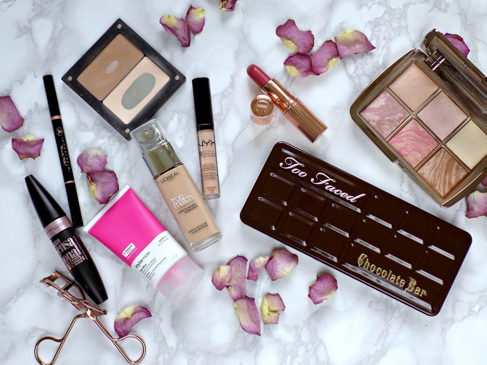 Makeup makeover for mature skin