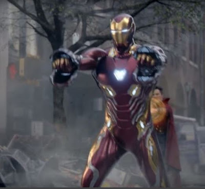 Which suit did Iron Man use for the Infinity War?