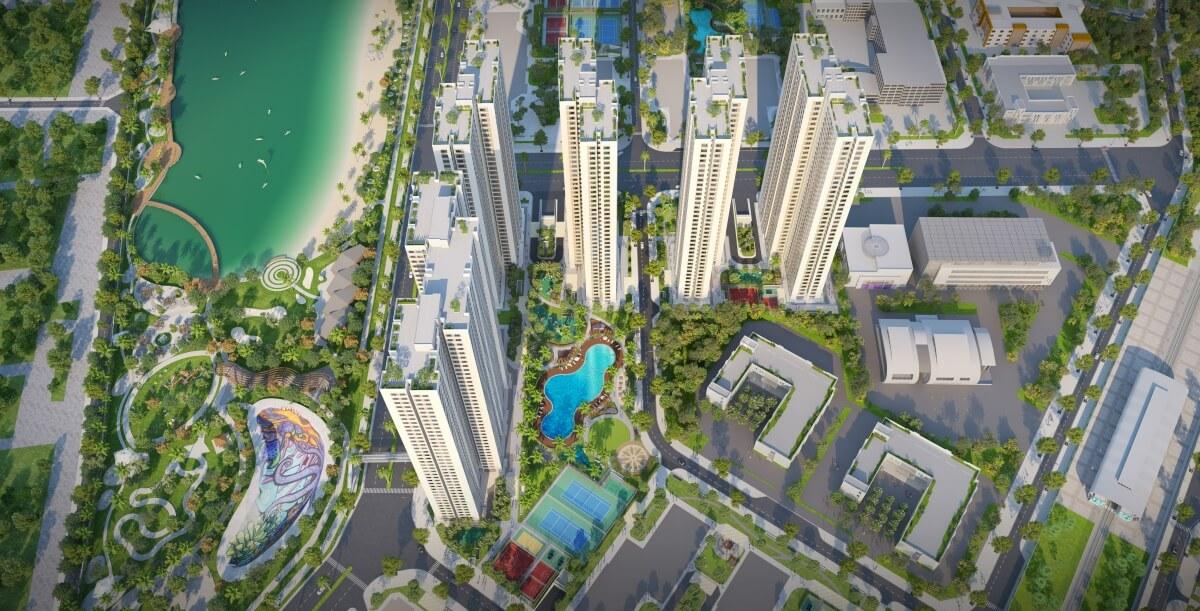 Quy hoạch thông minh dự án Imperia Smart City Tây Mỗ