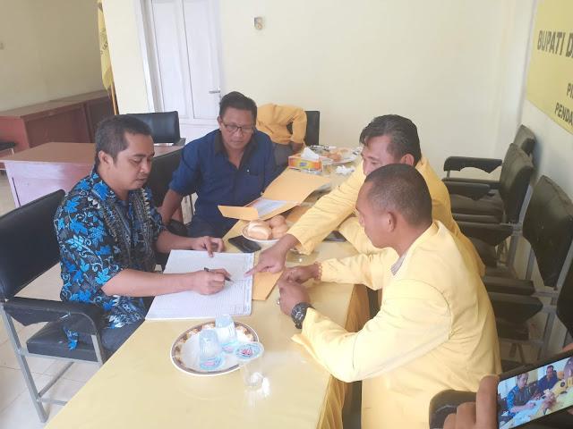 Ketua DPC Demokrat Soppeng Pendaftar Pertama di Golkar