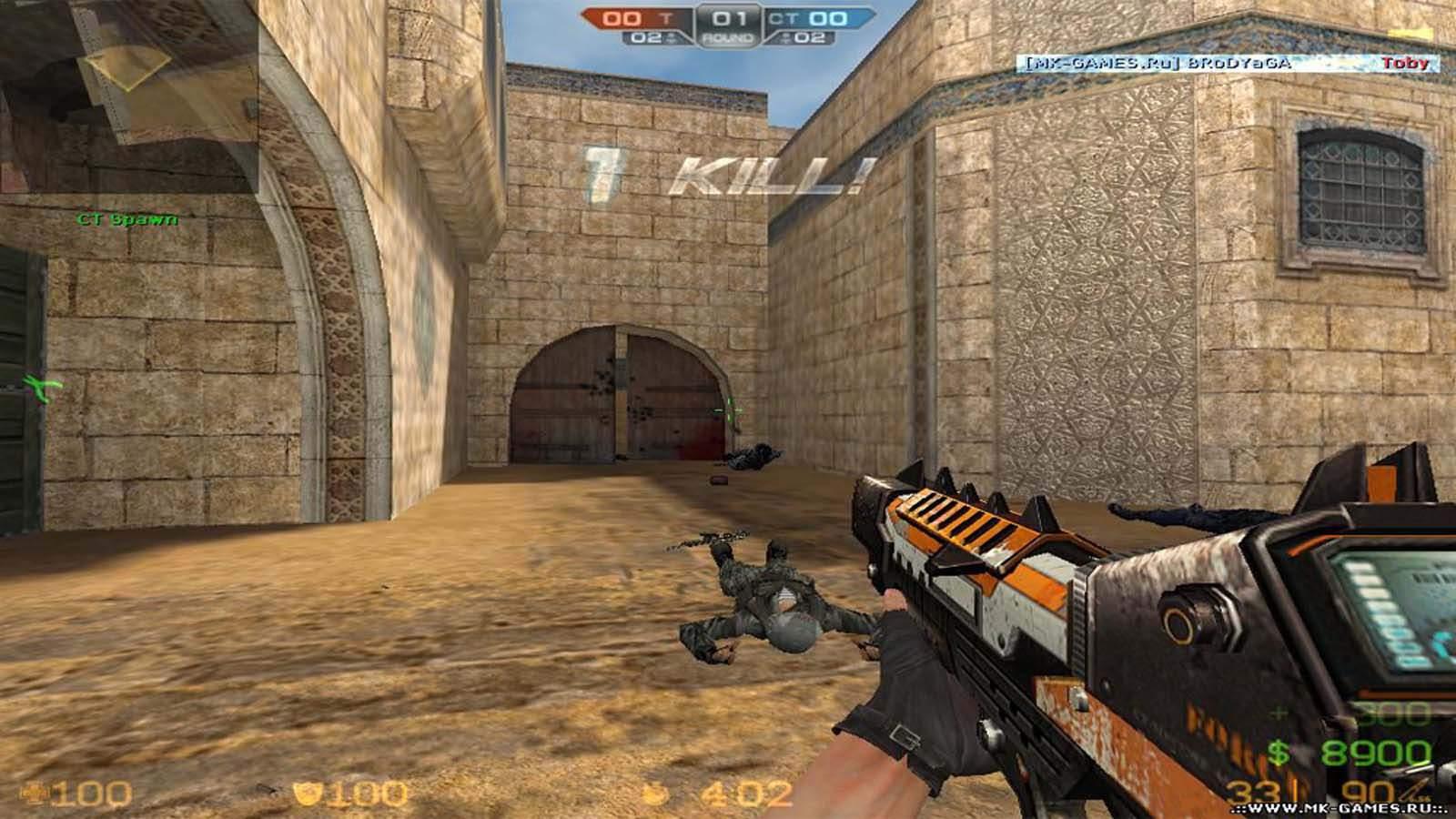 تحميل لعبة Counter Strike Extreme V7 مضغوطة برابط واحد مباشر كاملة مجانا