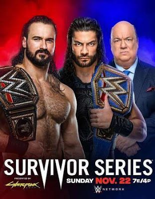 WWE Survivor Series 2020 English PPV 720p WEBRip Download