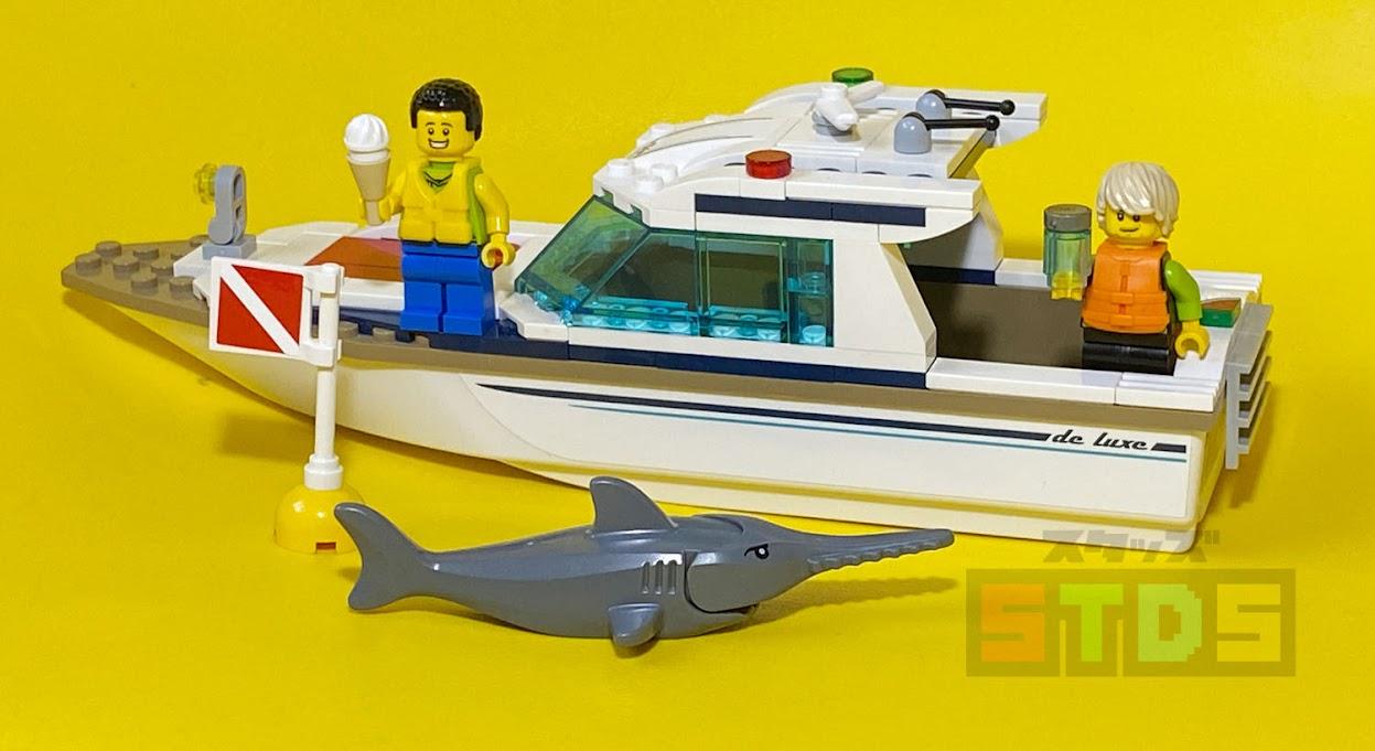LEGOレビュー:新旧ライフジャケット比較:新型は隙間がなくなり完成度アップ