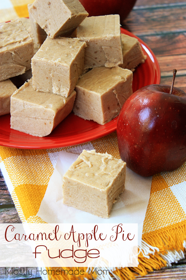 Caramel Apple Pie Fudge Dessert Recipies