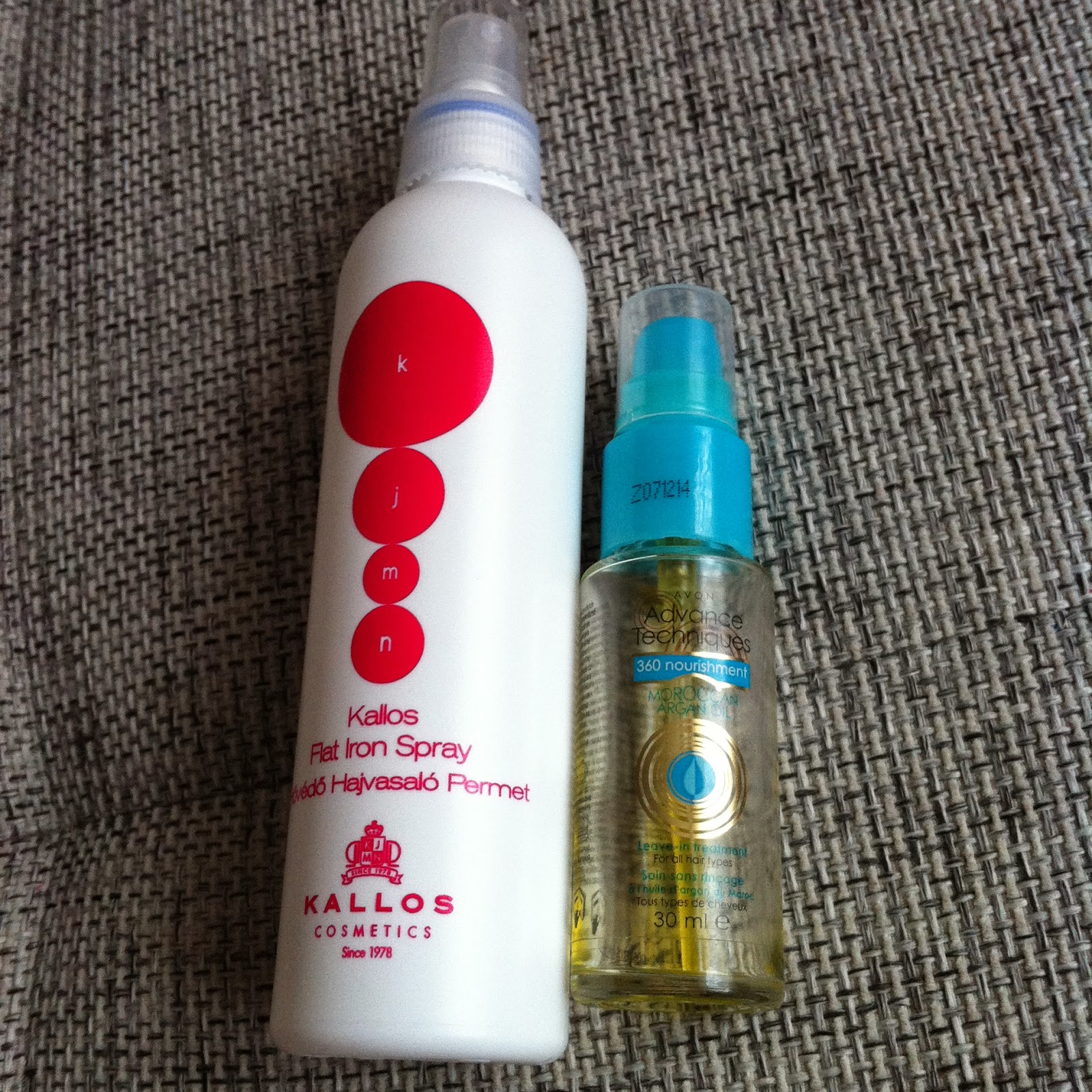 After my fiasco with the heat protector I was in a market to buy my old  favorite heat protector spray e4d7bc09e1