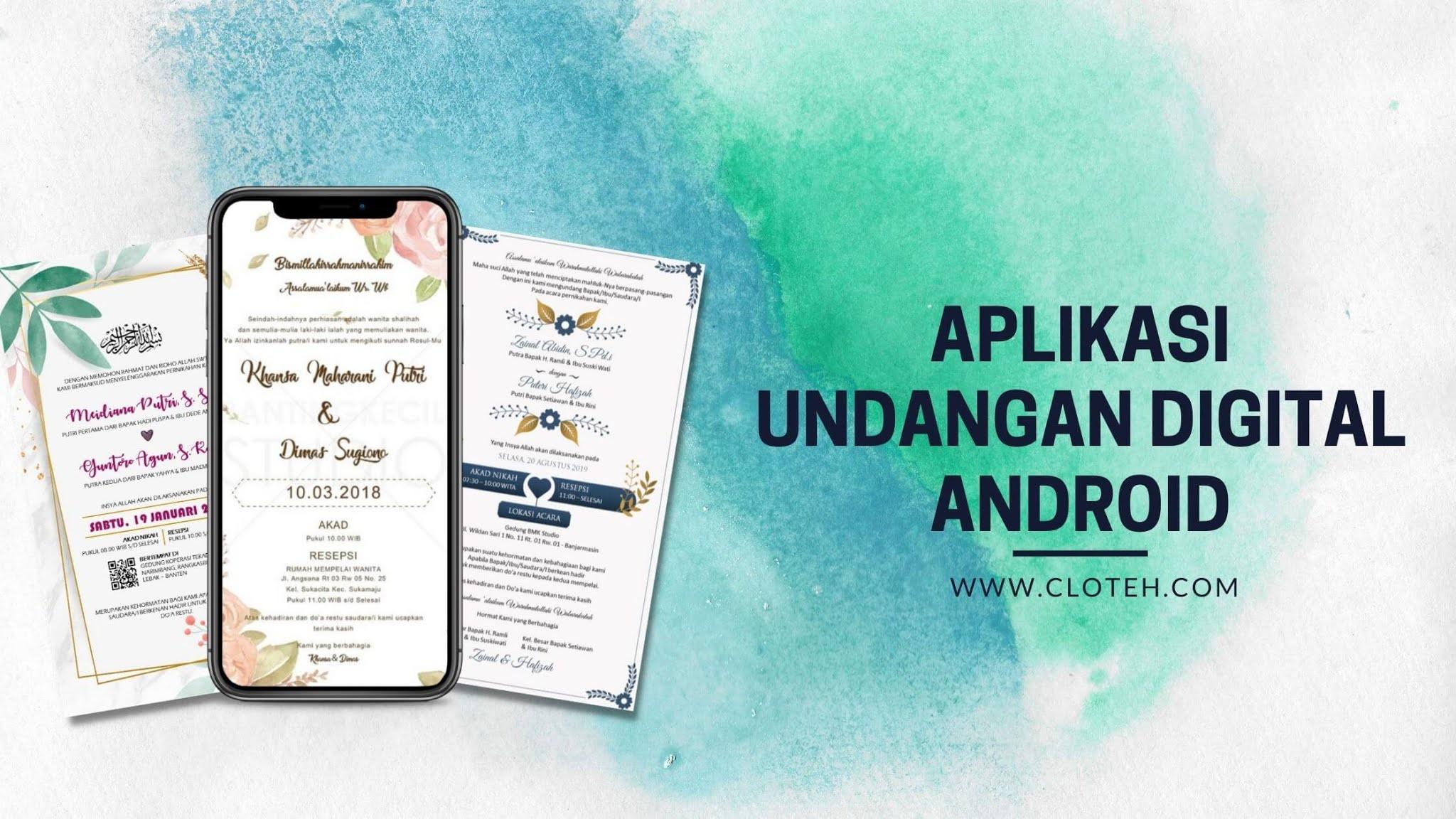 Aplikasi Undangan Digital Gratis untuk Android Terbaik ...