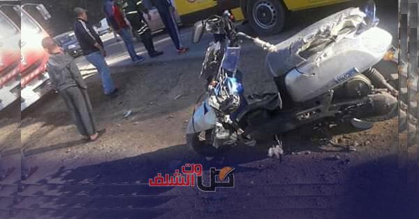 جرحى في حادث دهس بالطريق الوطني رقم 04 بالشلف