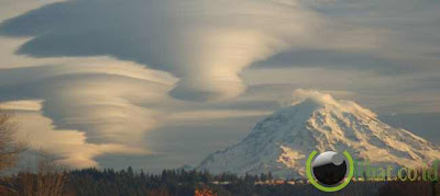Gunung Rainer, Washington