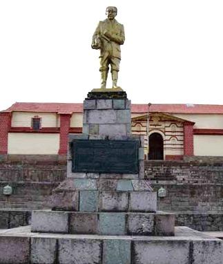 Foto de la estatua de Julio C. Tello