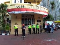 Polsek Tanjung Duren bersama 4 Pilar Gelar Apel Pengamanan Malam Takbir Idul Adha