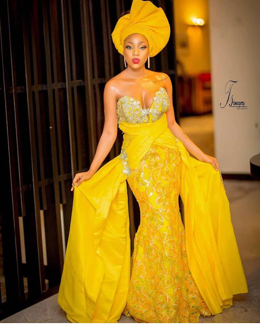Asoebi Styles 2019: Beautiful and Latest Samples