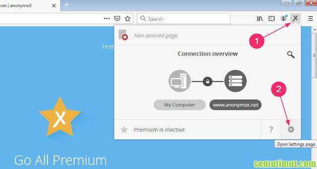cara mengaktifkan anonymox premium