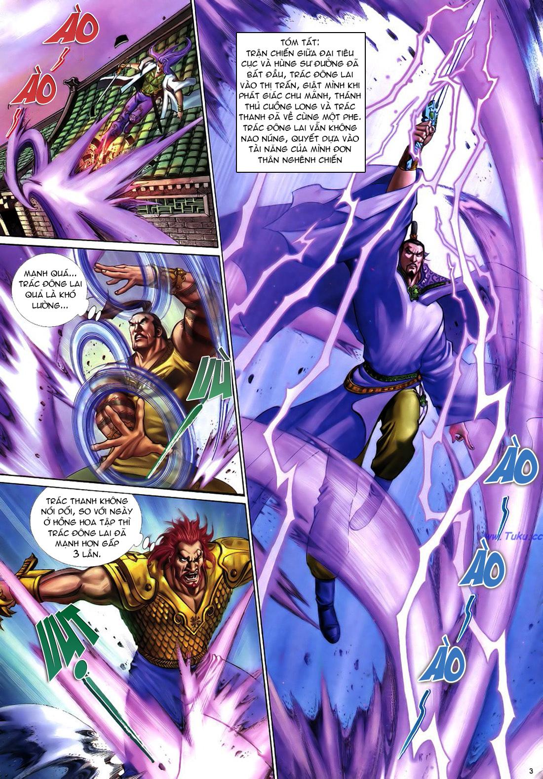 Anh hùng vô lệ Chap 22 trang 4