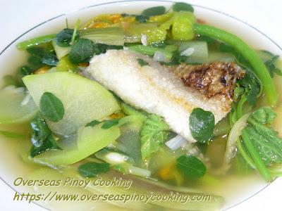 Dinengdeng, Green Leafy Version Recipe