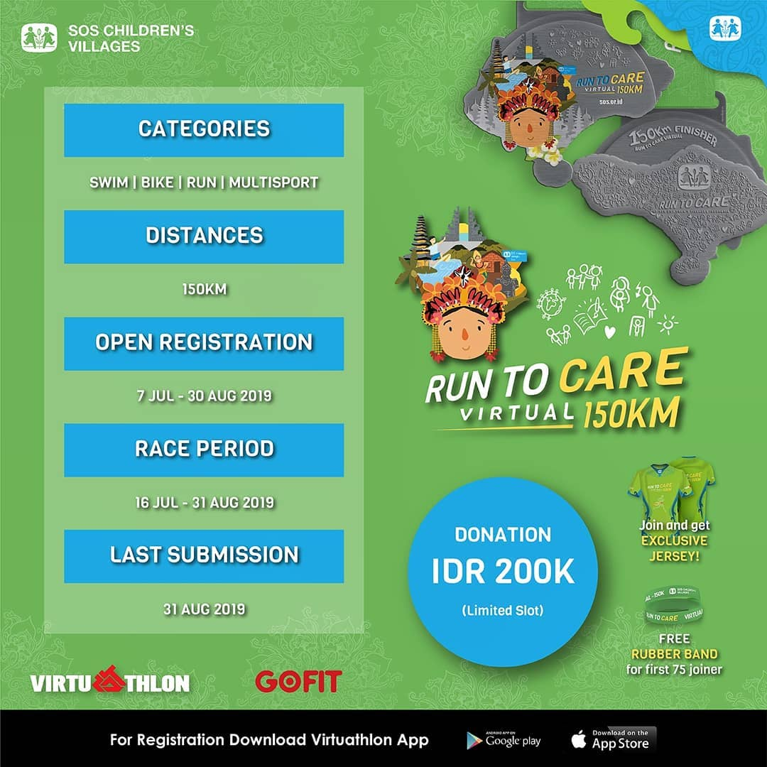 Run To Care Virtual 150K • 2019