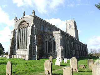blythburgh church, self-catering holidays suffolk