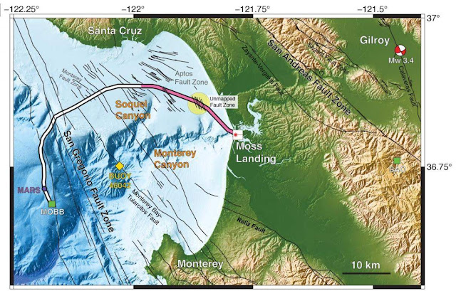 Mysterious Tectonic Fault Zone Found Off California