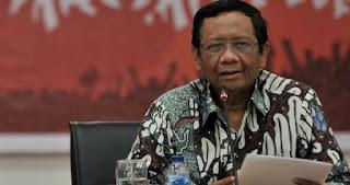 MAHFUD MD : Di Era Jokowi Tidak Ada Satu pun Isu Pelanggaran HAM