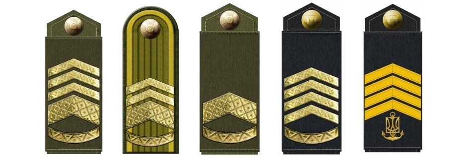 Міноборони заплуталось у нових сержантських званнях