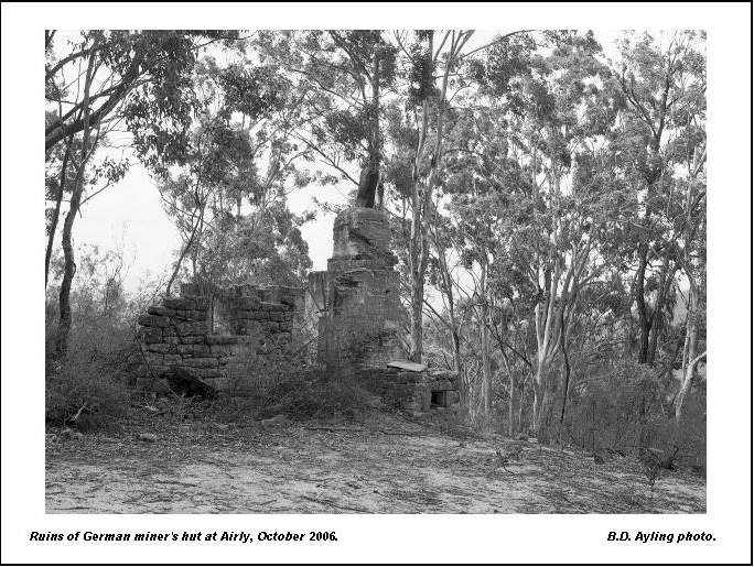 Old Images of Rylstone District: Abandoned Shale Mines