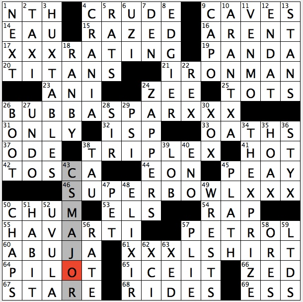 Rex Parker Does The Nyt Crossword Puzzle Hip Hop Artist With 2006 Hit Ms New Booty Wed 11 6 19 Marvel Hero With Multiple M I T Degrees Bygone Fords Gal Eponymous Gun