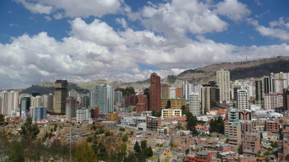 La Paz, Capital Administrativa da Bolívia