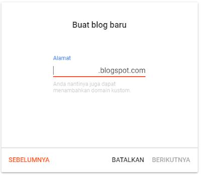 Menulis URL Blog