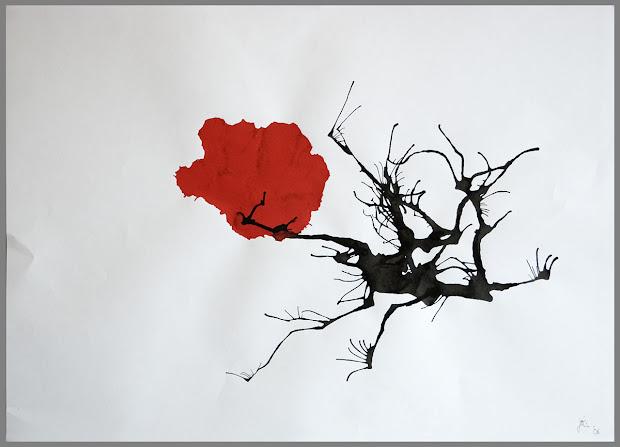 Japanese Flower Art Paintings