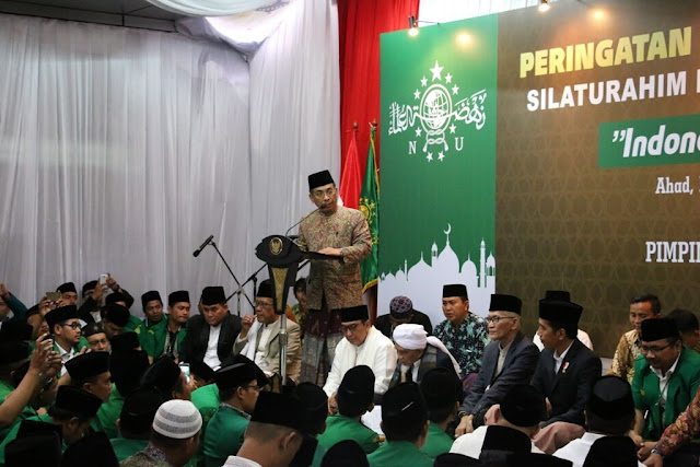 Para ulama sepuh menggelar pertemuan dengan Presiden Joko Widodo di kantor Pimpinan Pusat Gerakan Pemuda Ansor, Ahad sore, 11 Desember 2016, di Jalan Kramat Raya, No 65A, Jakarta.
