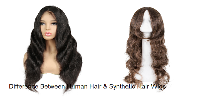 Difference Between Human Hair & Synthetic Hair Wigs