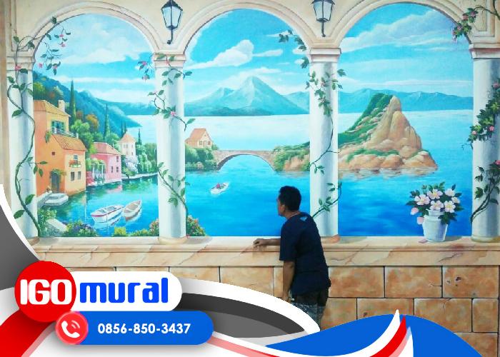 Lukisan Dinding Cafe Kekinian