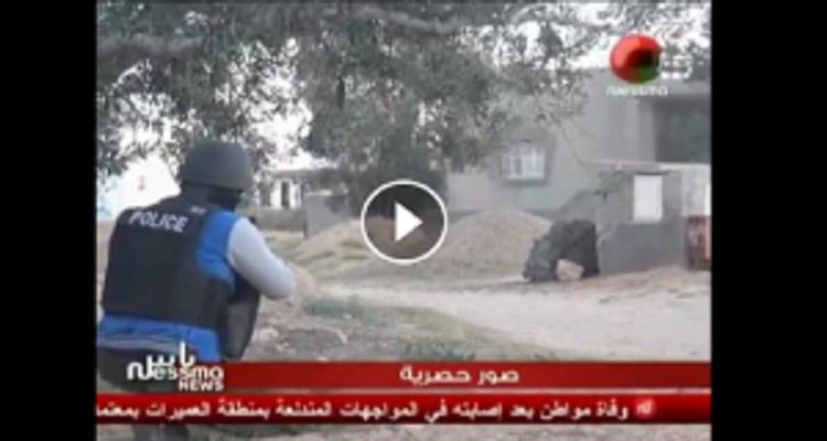 أقوى فيديو يمكن أن تشاهده في حياتك... جندي ينادي : أظهر يا ارهابي