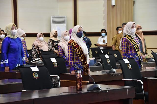 Istri Bupati ASA Dikukuhkan Jadi Bunda PAUD di Kantor Gubernur