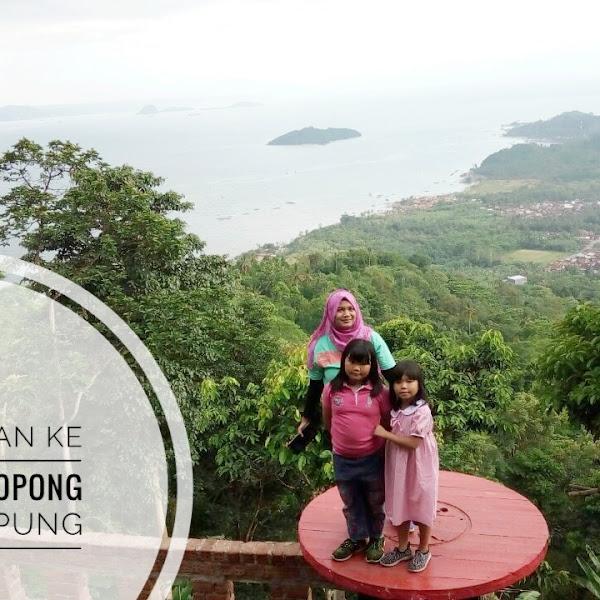 Jalan-jalan Ke Muncak Teropong Laut Lampung
