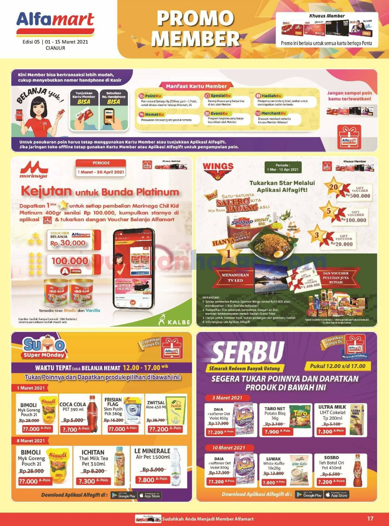 Katalog Promo Alfamart 1 - 15 Maret 2021 17