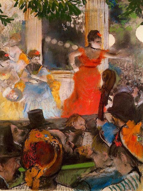 Эдгар Дега - В кафешантане 'Les Ambassadeurs' (1877)