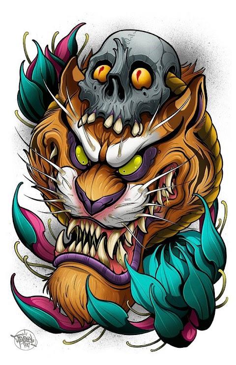 Hổ Vằn Nghệ Thuật
