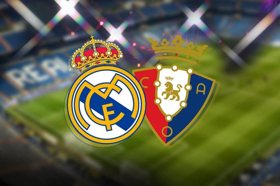 موعد مباراة ريال مدريد وأوساسونا والقنوات الناقلة في الجولة  من الدوري الإسباني