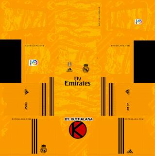 timeless design 6a612 78996 Reshared, Real Madrid 2019/2020 Kit - Dream League Soccer ...