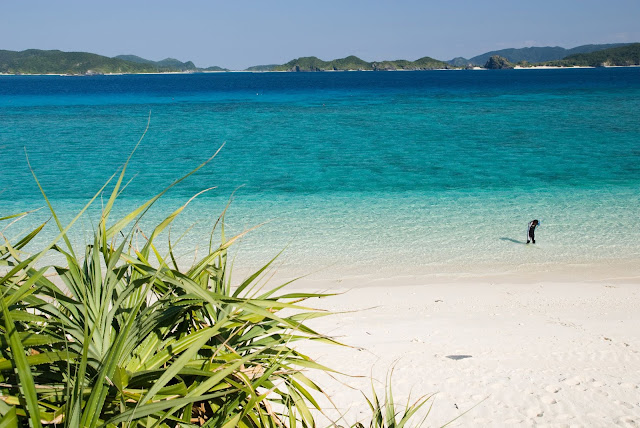 Seas & Oceans - Beach, Island of Okinawa - Japan