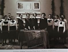 Żeńskie Gimnazjum Kupieckie w Krakowie 1937