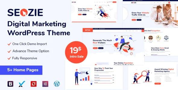 SEO and Digital Marketing WordPress Theme