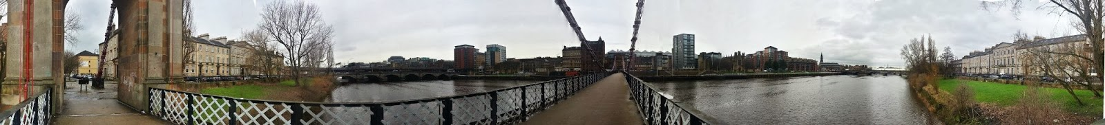 Clyde Street Suspension Bridge, Glasgow