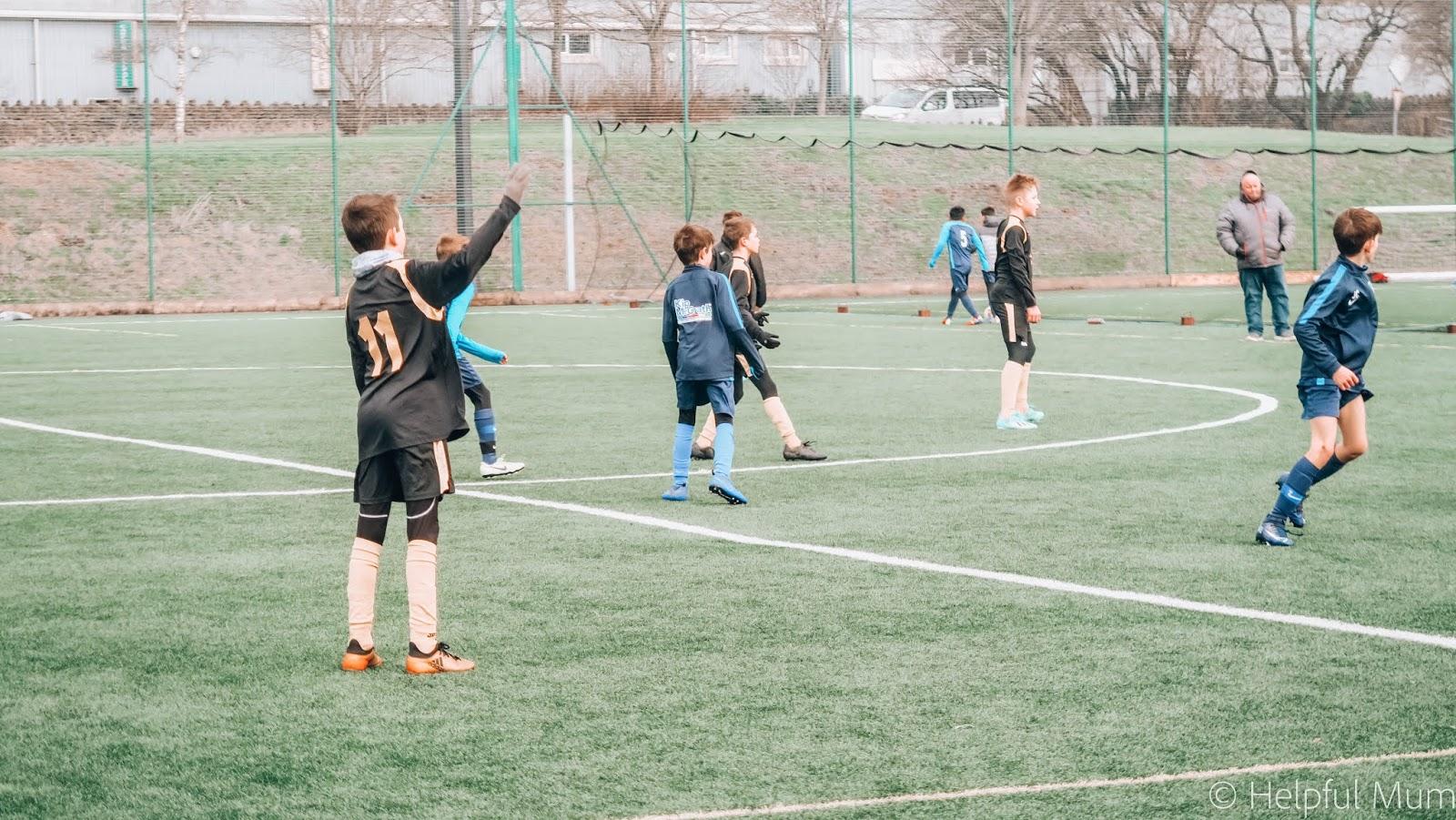 U11s football